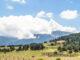 Blick vom Capcir auf die Pyrenäen-Hauptkette. Foto: Hilke Maunder