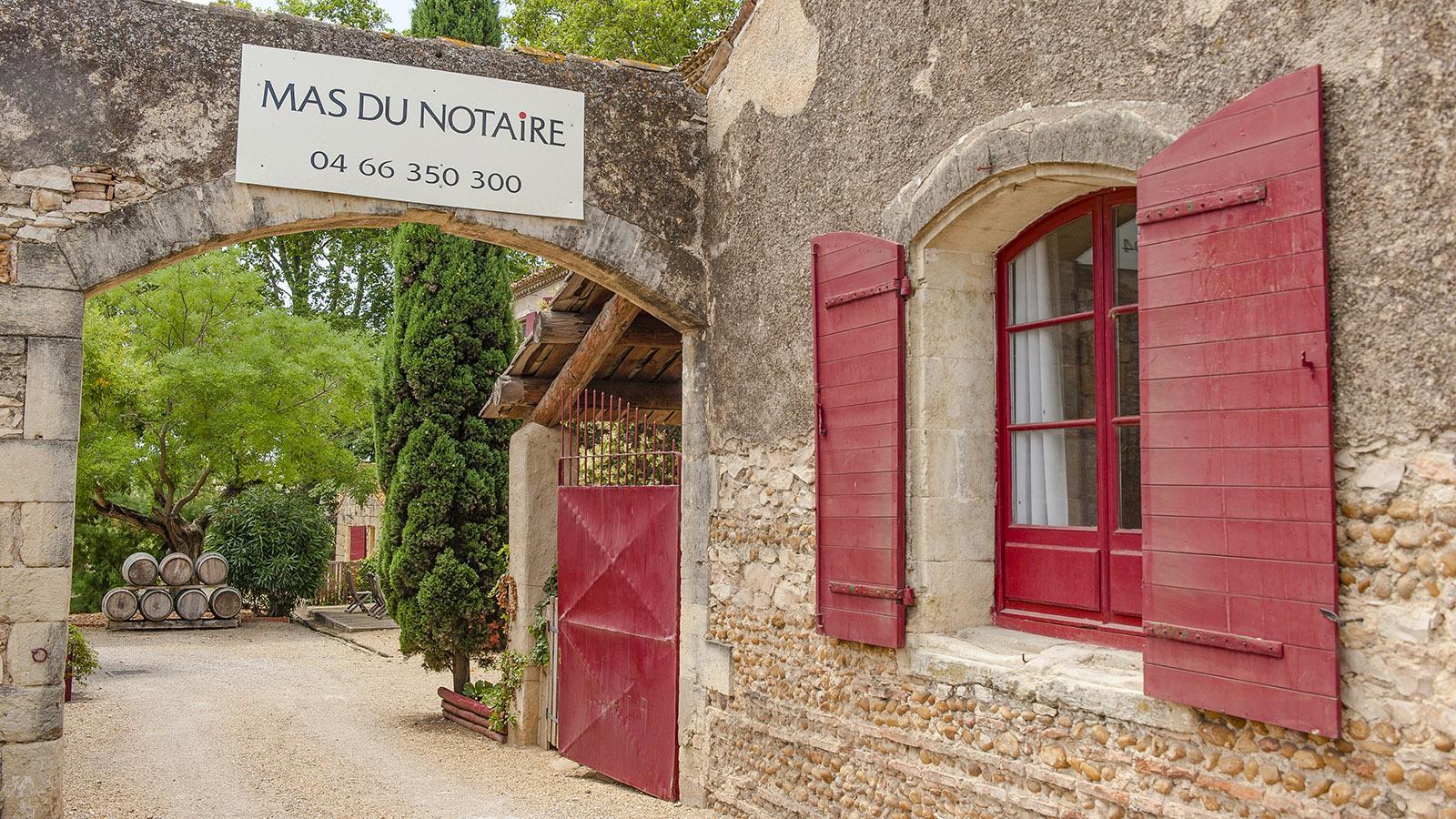 Petite Camargue: das schönste Weingut von Gallician - das Mas du Notaire. Foto: Hilke Maunder