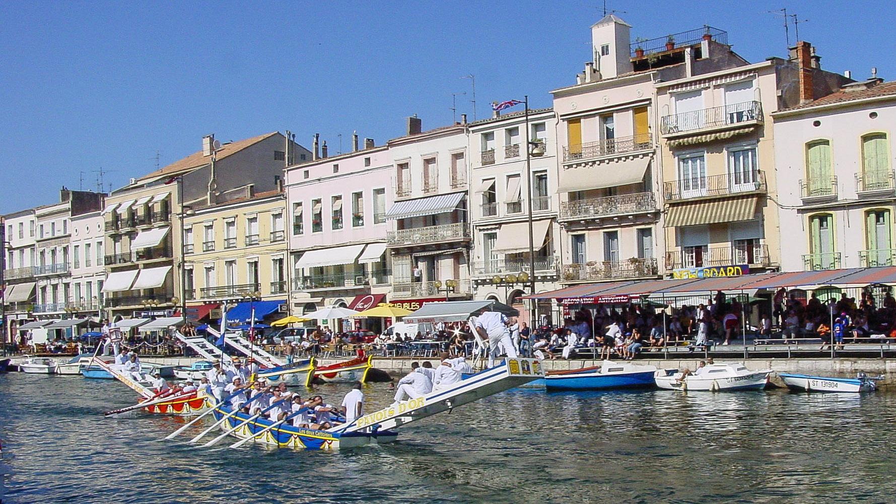 Die Joutes von Sète. Foto: Hilke Maunder