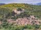 Der Blick auf Castelnou vom Aussichtspunkt. Foto: Hilke Maunder