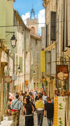 F/Hérault/Pézenas: Altstadt