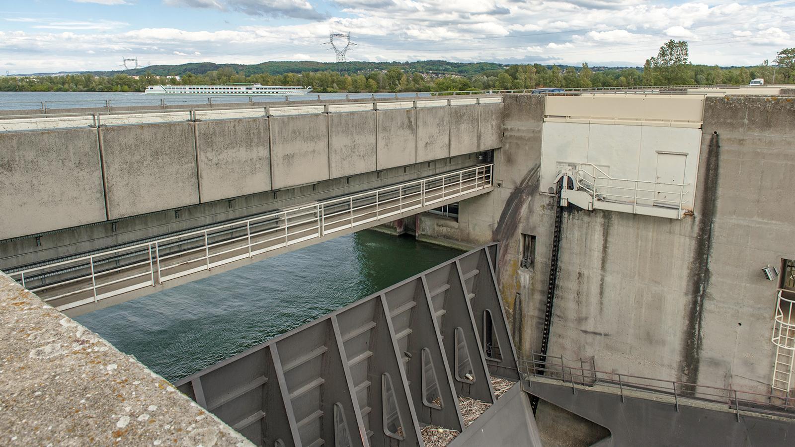 Das Wasserkraftwerk von Saint-Pierre-de-Boeuf. Foto: Hilke Maunder