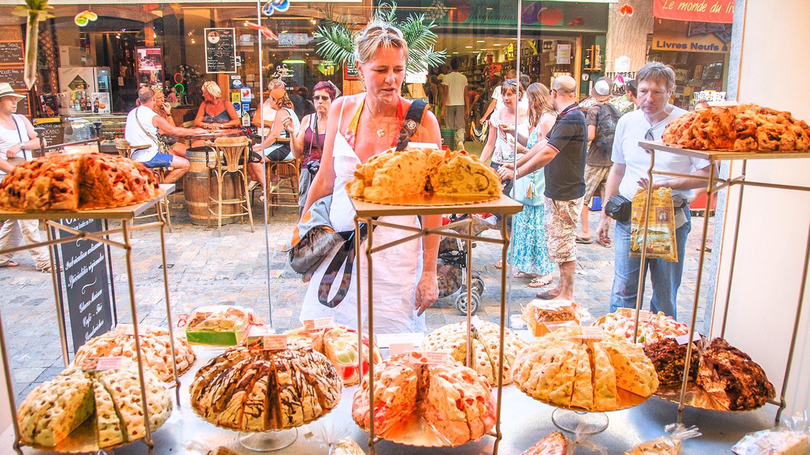 Nougat-Träume bei einem Pâtissier in Aigues-Mortes. Foto: Hilke Maunder