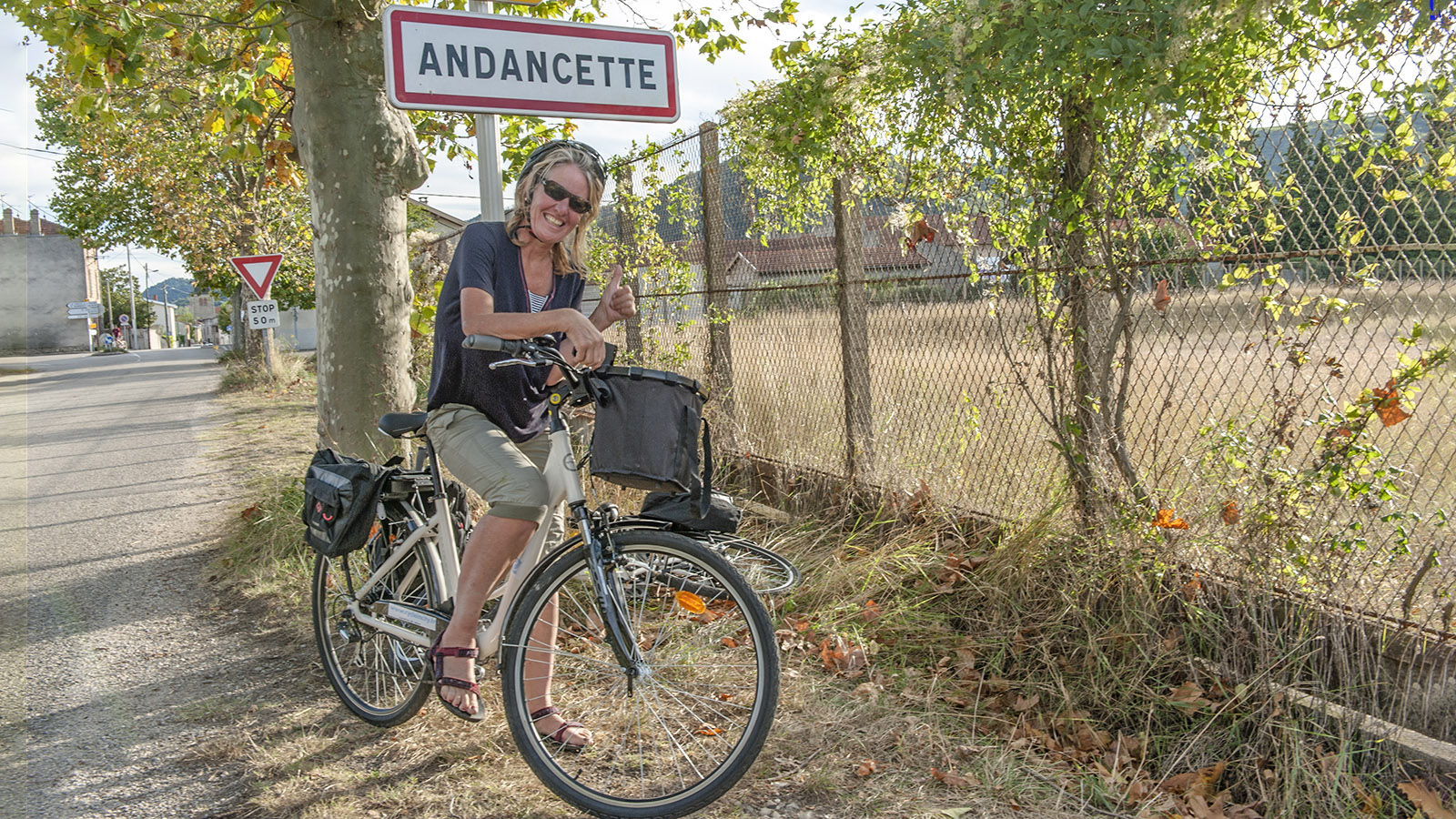 Angekommen in Andancette. Foto: Hilke Maunder