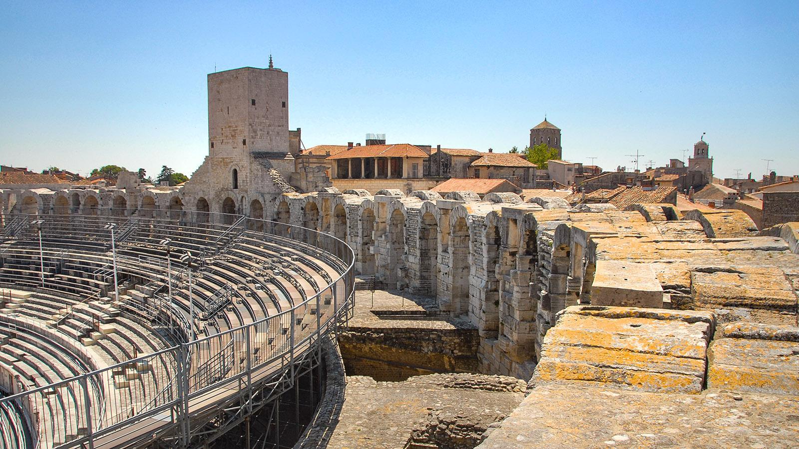 Die Arenen von Arles. Foto: Hilke Maunder