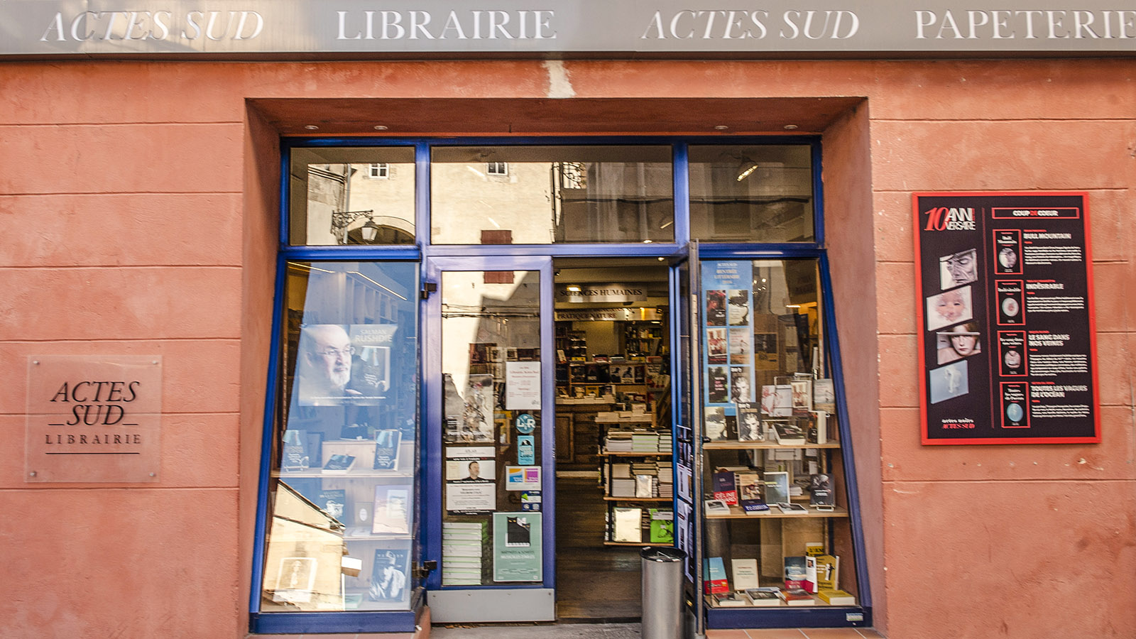 Arles: Actes Sud. Foto: Hilke Maunder