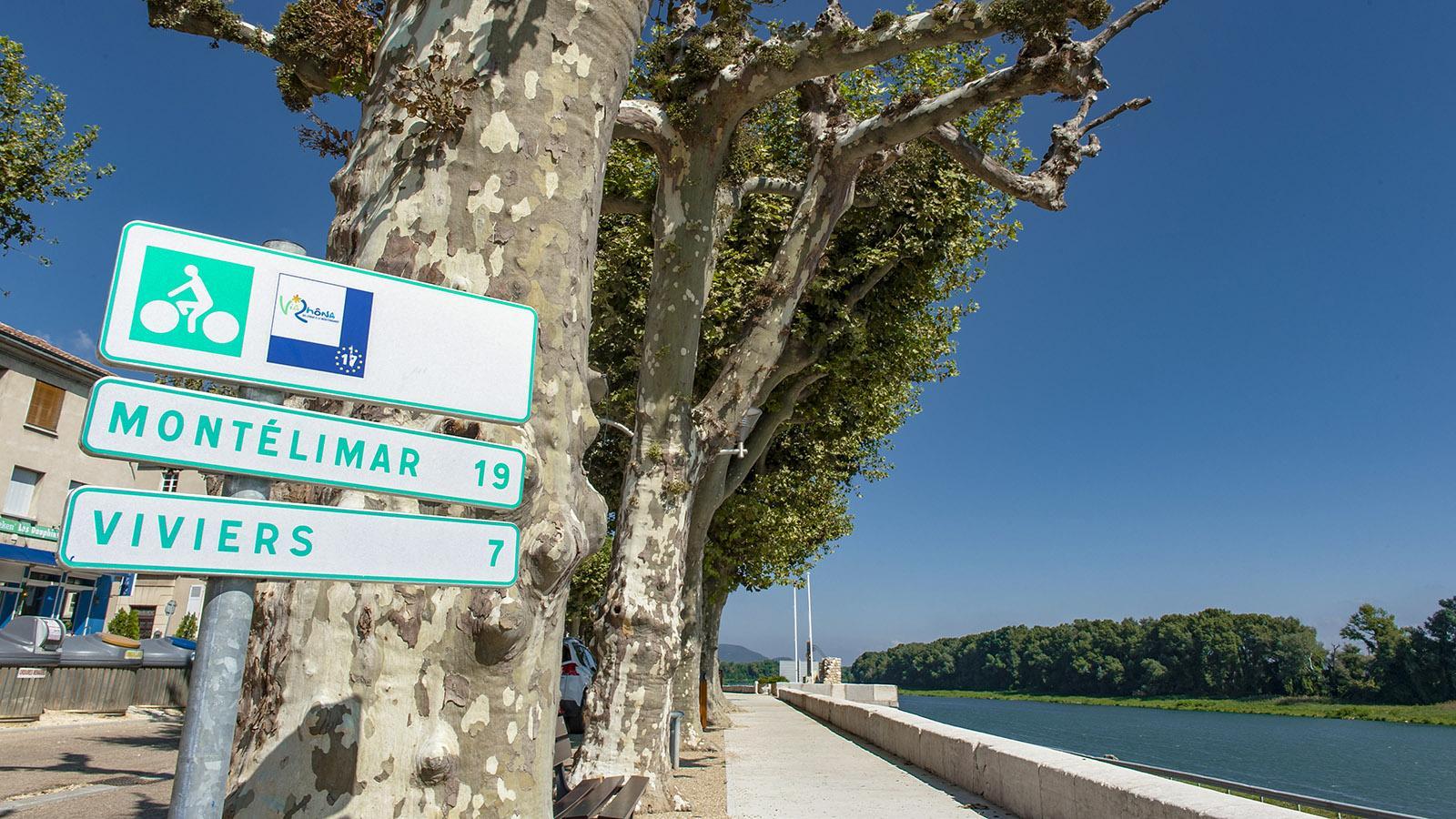 Bourg Saint-Andéol ist eine Etappe der ViaRhôna vom Genfer See zum Mittelmeer. Foto: Hilke Maunder