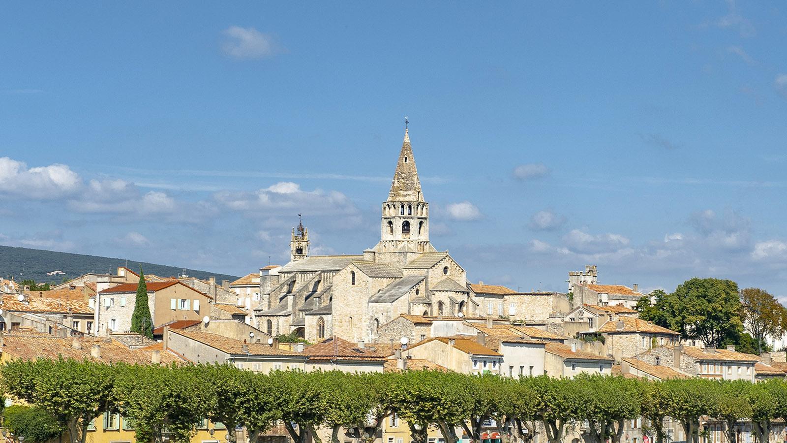 Voller Charme: Bourg Saint-Andéol am rechten Ufer der Rhône. Foto: Hilke Maunder