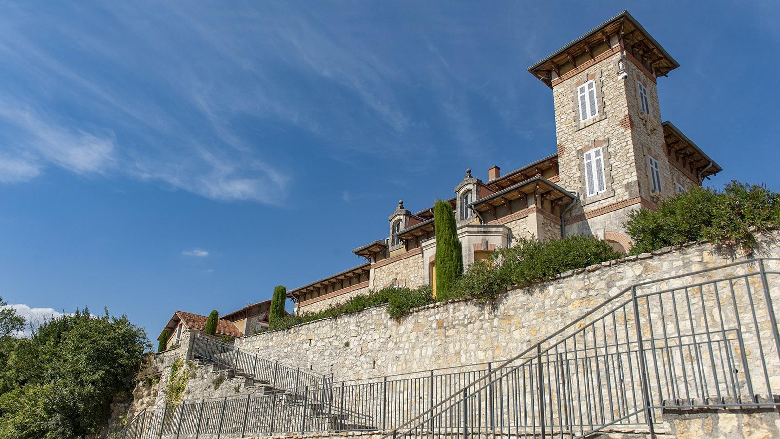 Bourg Saint-Andéol: die Villa des Bankiers Marc Pradelle. Foto: Hilke Maunder