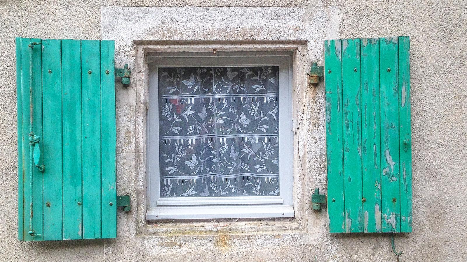 Fensterblick in Le Caylar. Foto: Hilke Maunder