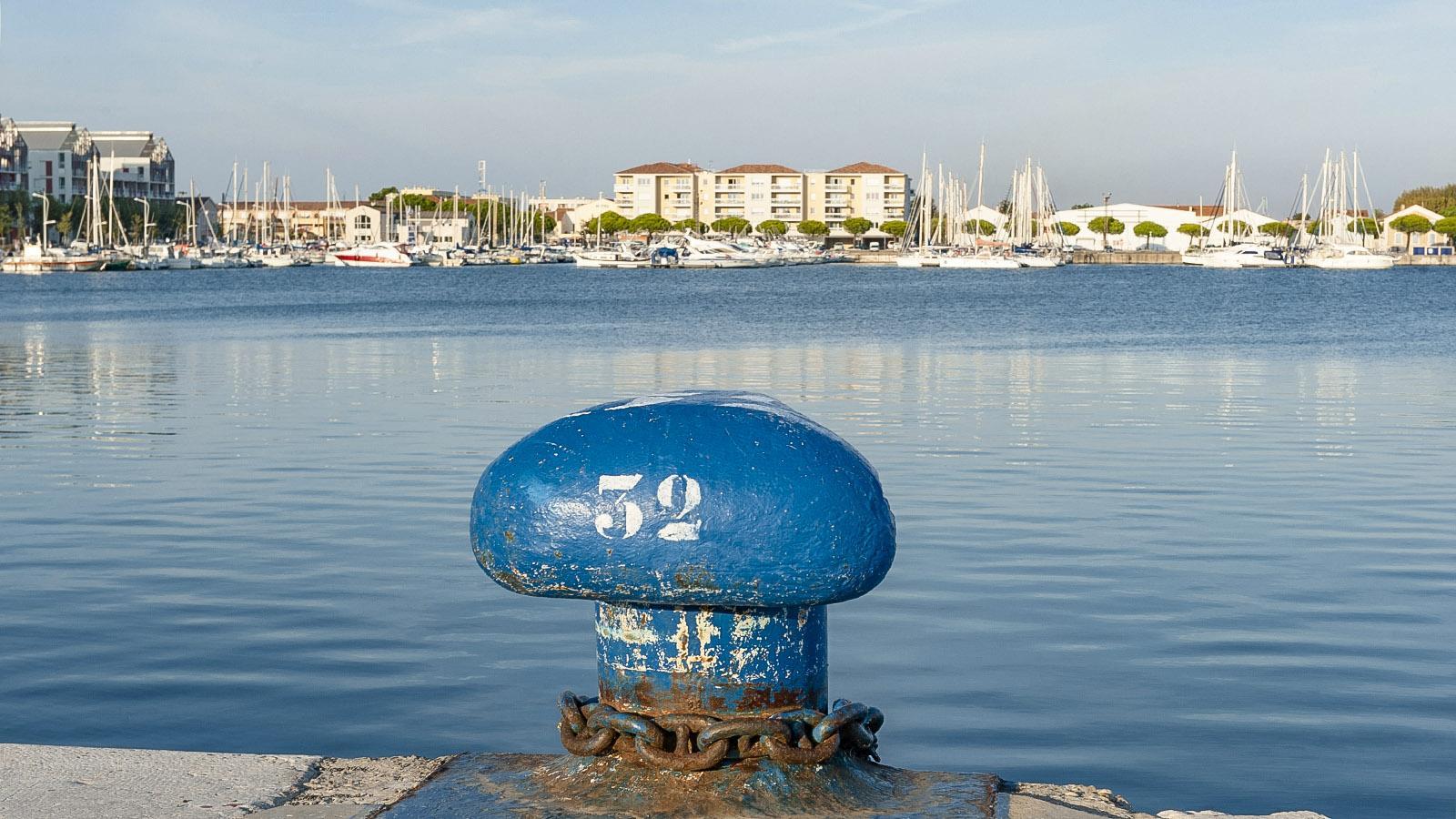 Port Saint-Louis-du-Rhône. Sportboothafen. Foto: Hilke muander