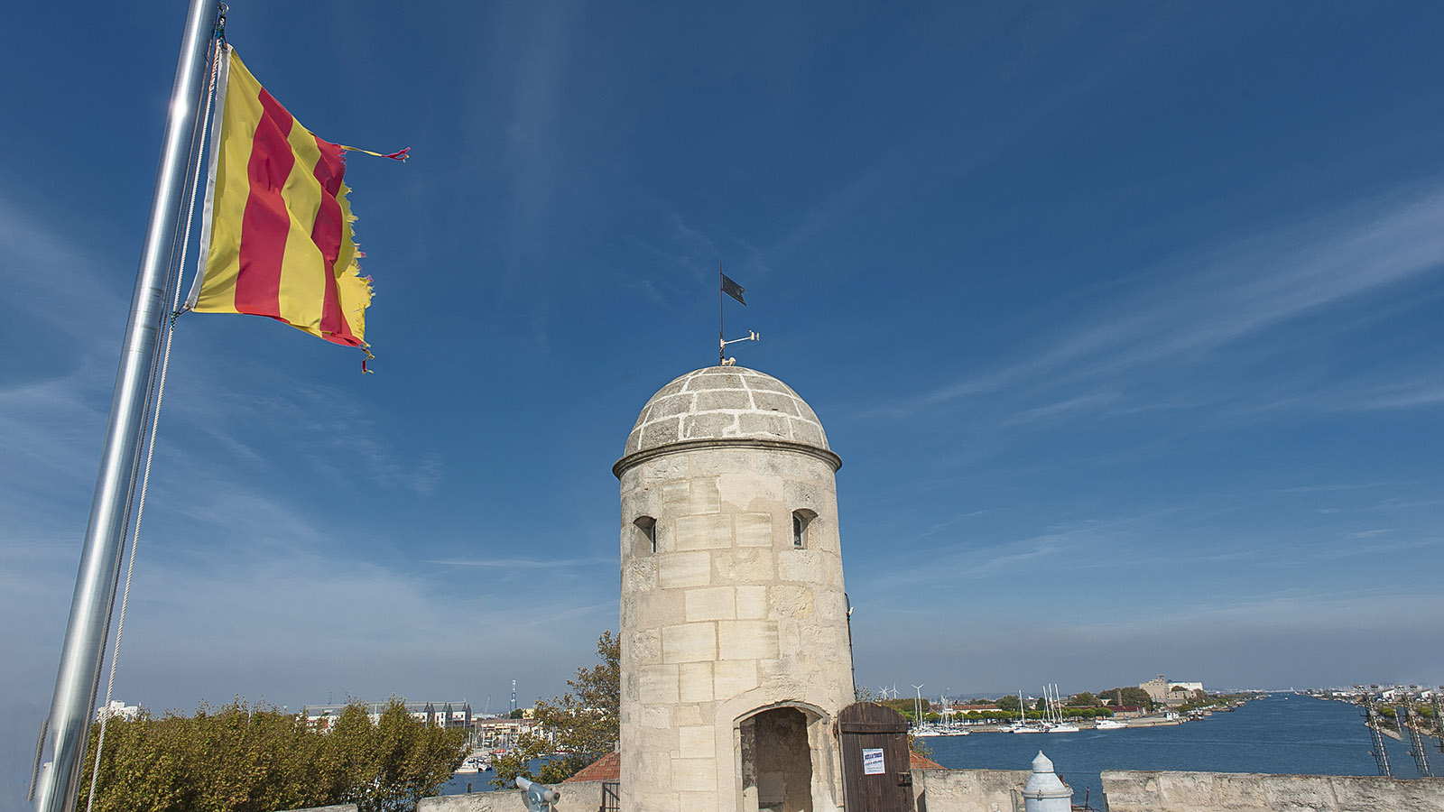 Port Saint-Louis-du-Rhône: die tour Saint-Louis. Foto: Hilke Maunder