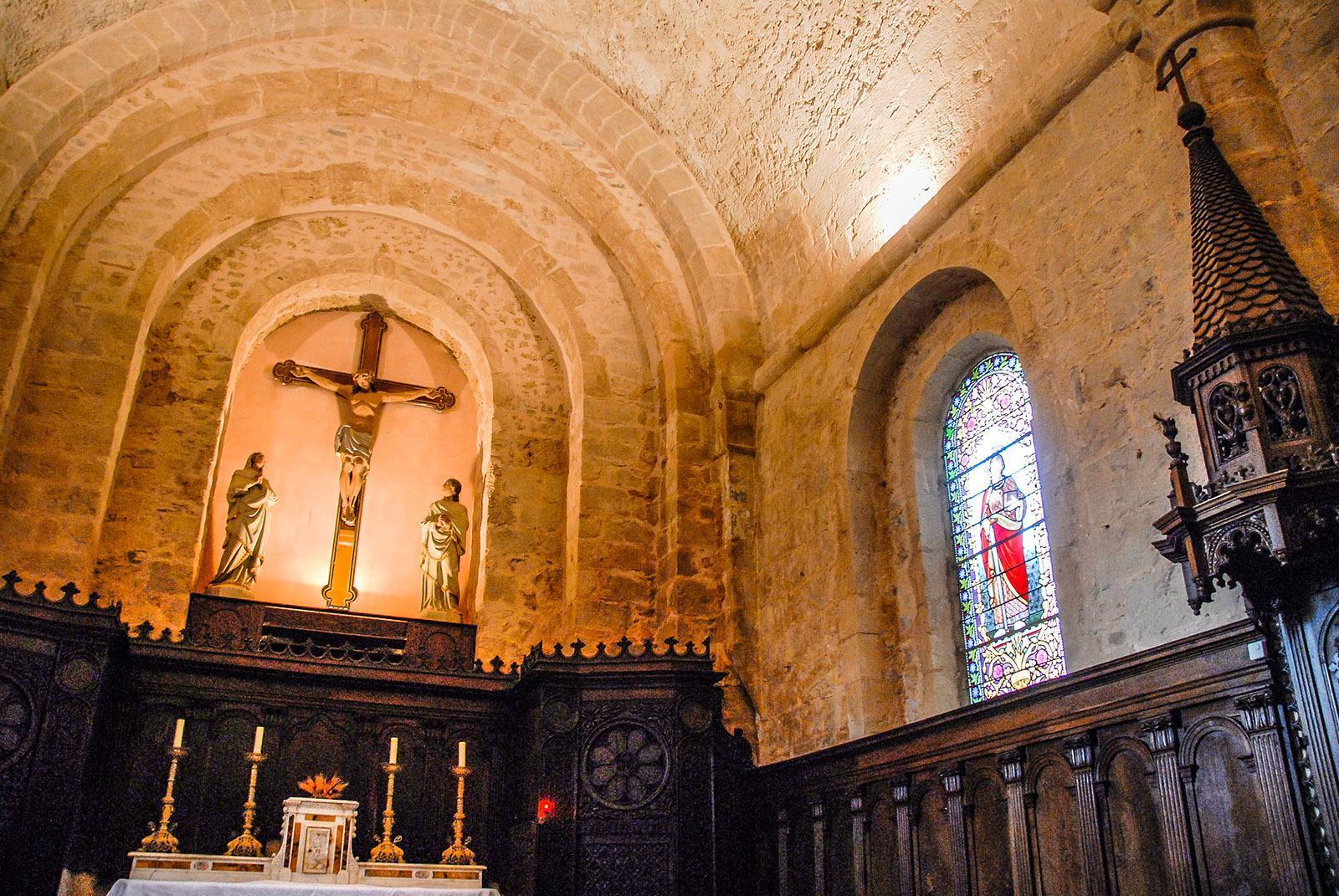 Tempelritter: Die Kirche von Sainte-Eulalie-de-Cernon. Foto: Hilke Maunder