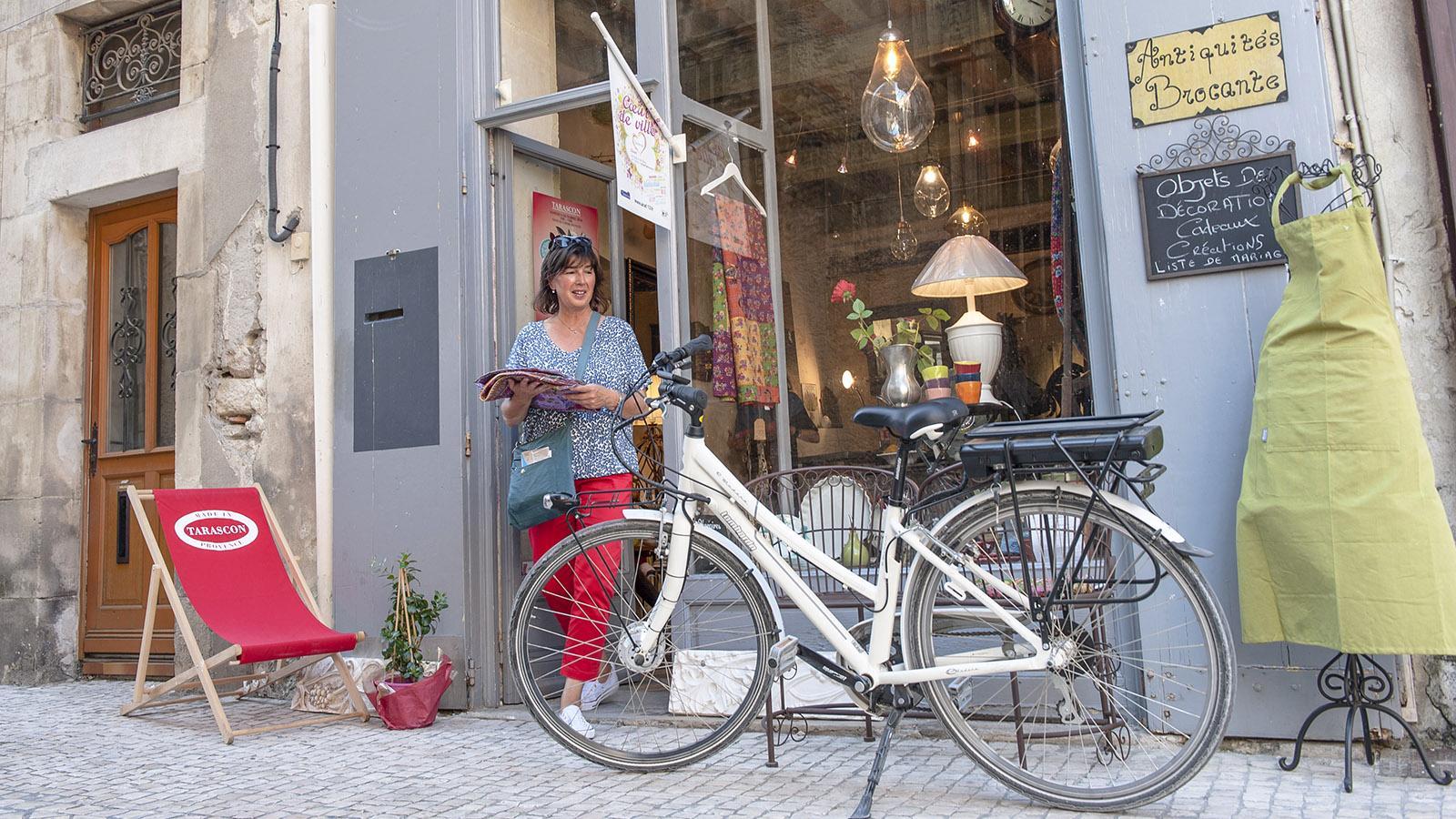 Boutique in Tarascon. Foto: Hilke Maunder