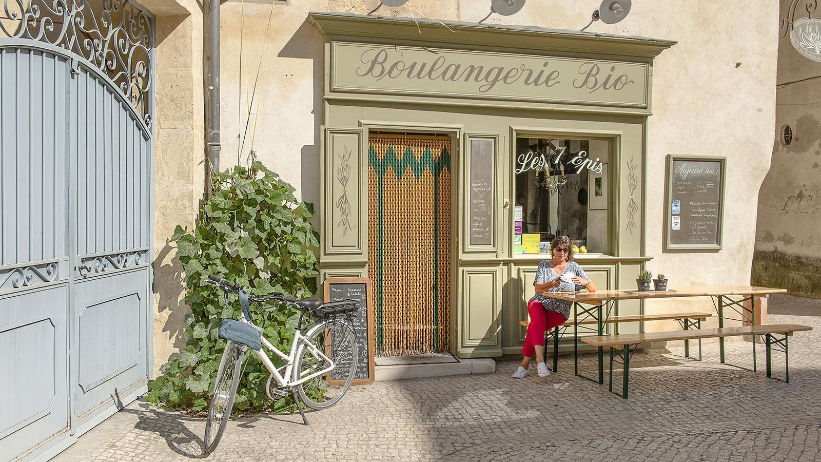 Tarascon: Bäckerei. Foto: Hilke Maunder