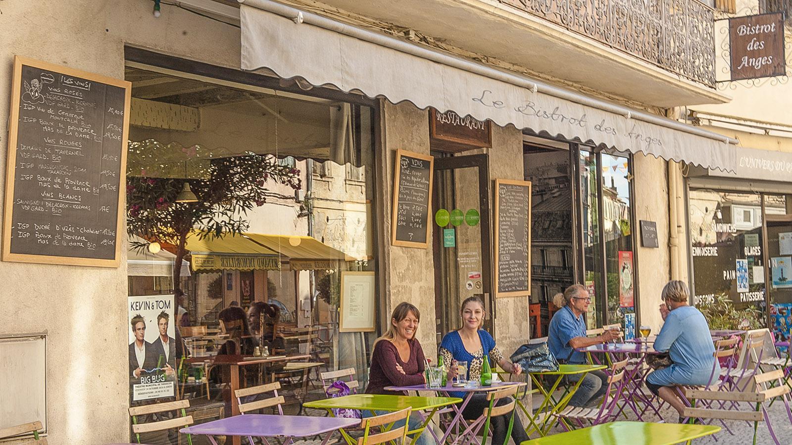 Tarascon, Bistro-Café. Foto: Hilke Maunder
