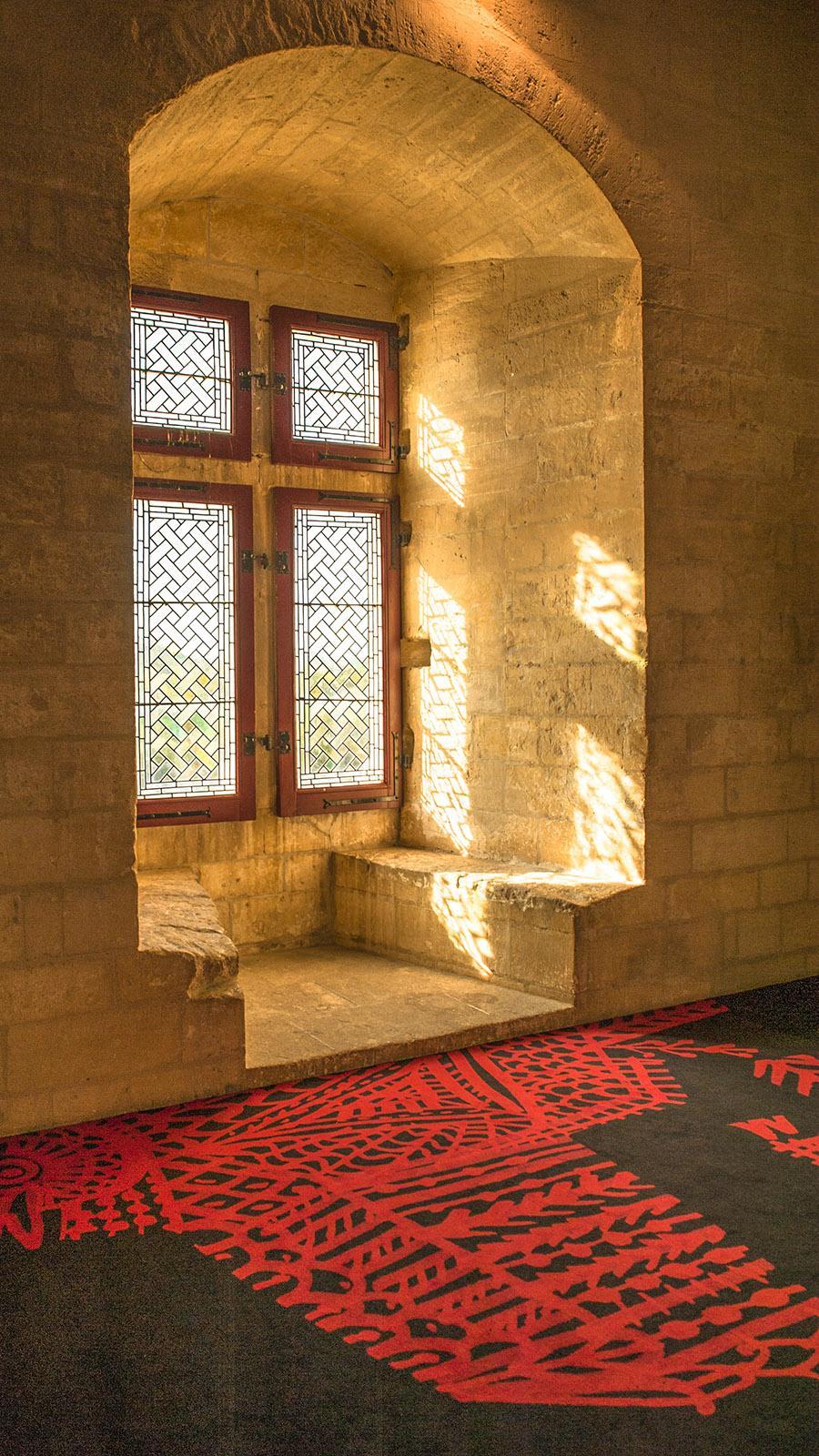 In der Burg von Tarascon. Foto: Hilke Maunder