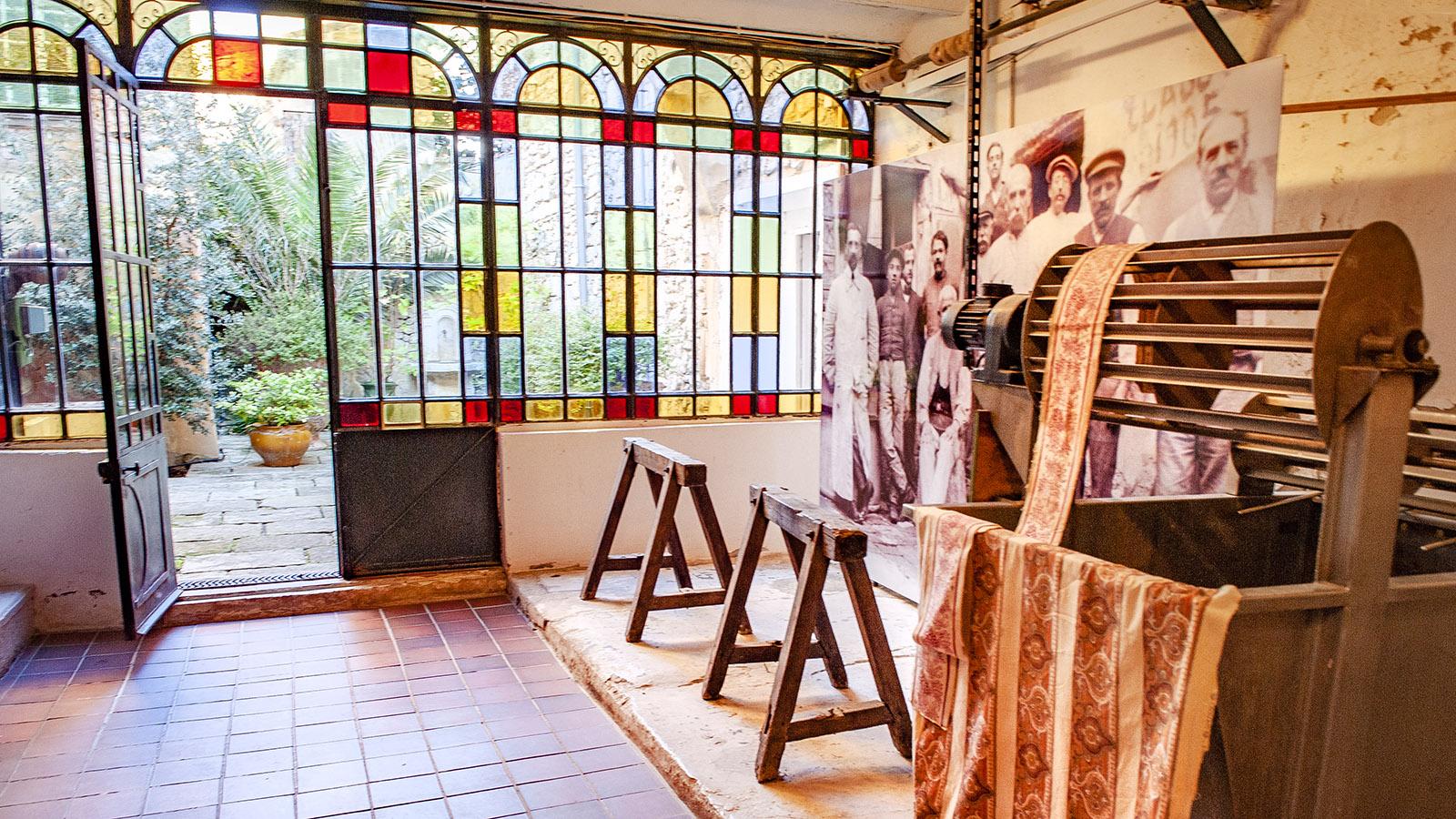 Tarascon: Souleiado-Museum. Foto. Hilke Maunder