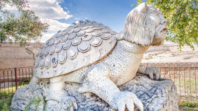 Die Tarasque - der Drache von Tarascon. Foto: Hilke Maunder