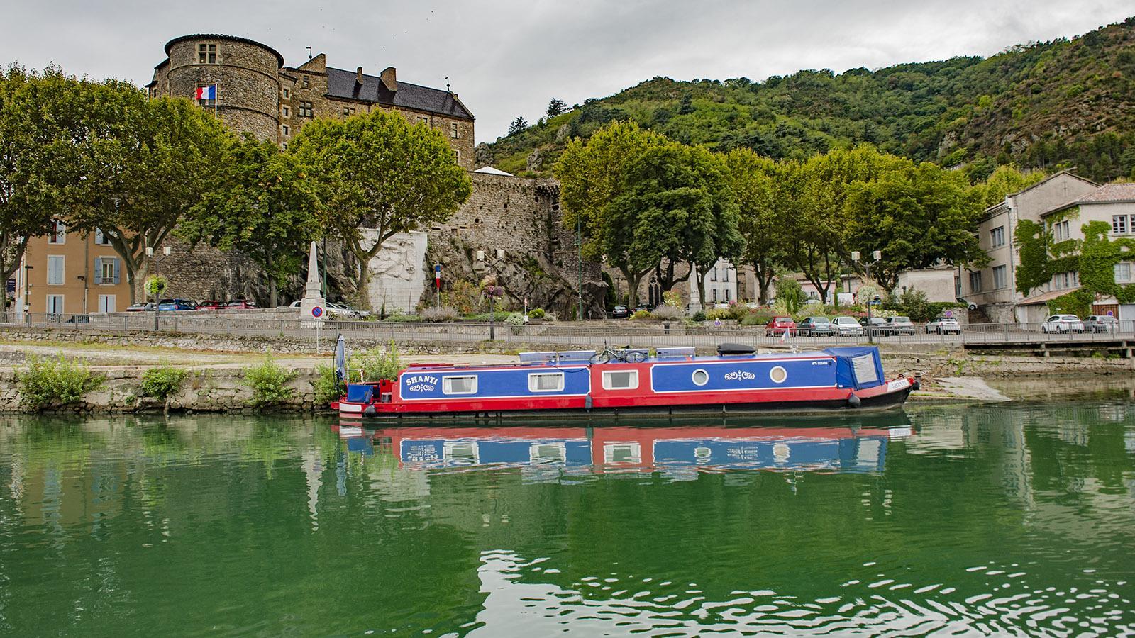 Die Burg vom Tournon. Foto: Hilke Maunder