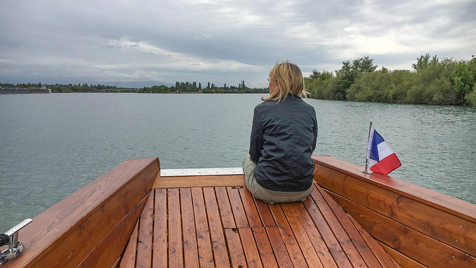 Zen: Boat & Bike auf der Rhône. Foto: Hilke Maunder