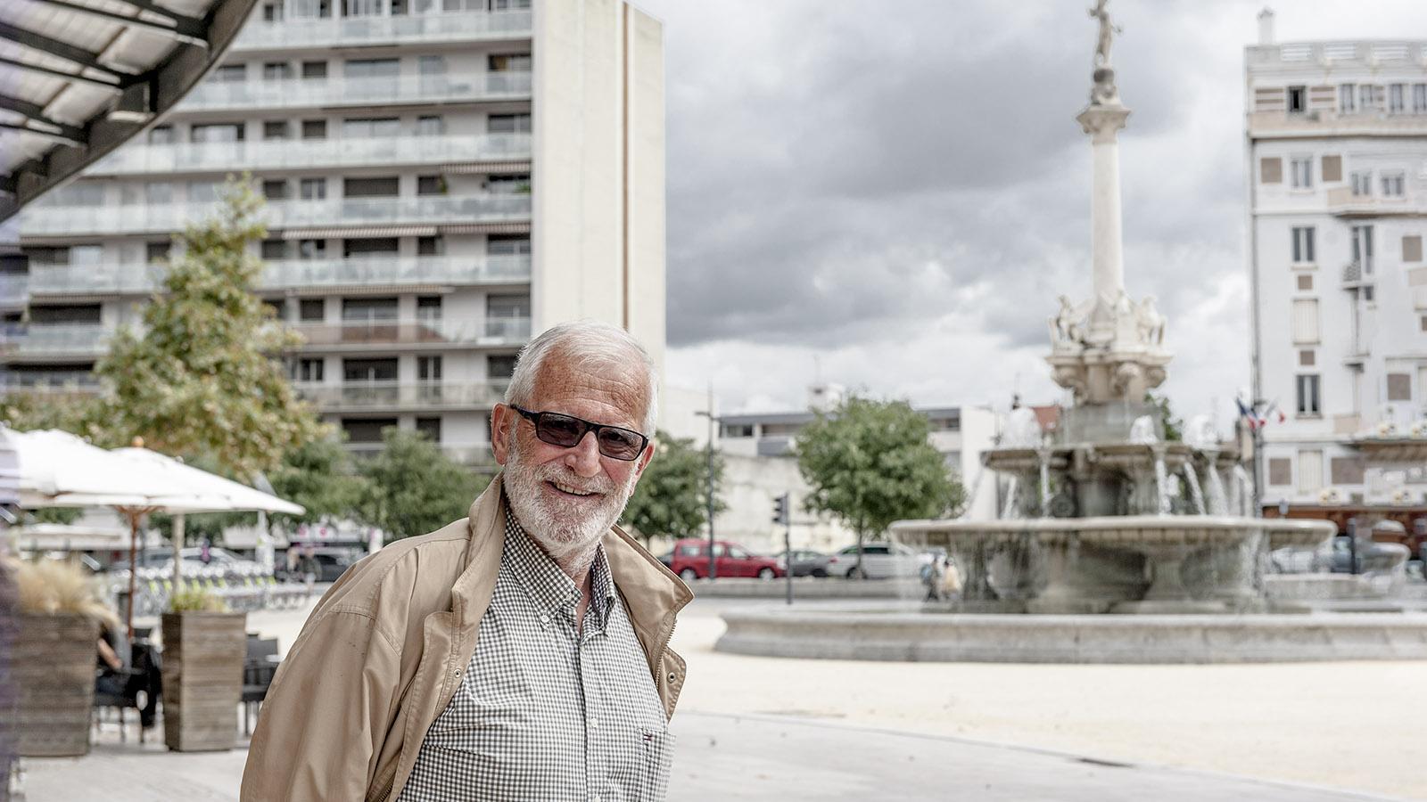 Greeter Albert Cessieux. Foto: Hilke Maunder