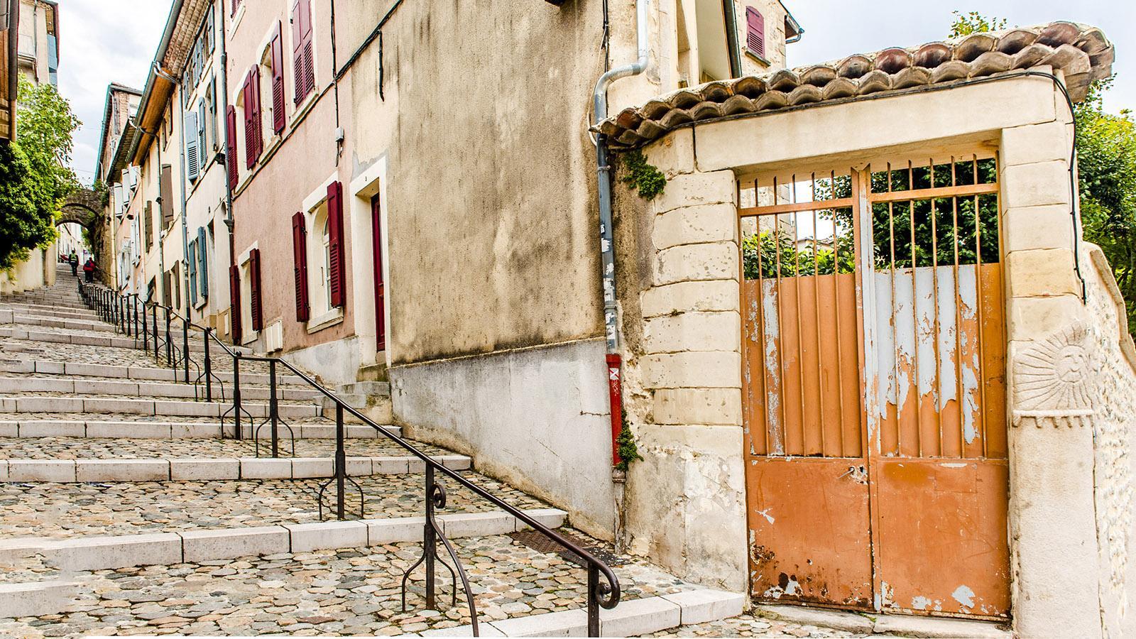 Valence: in der Altstadt. Foto: Hilke Maunder