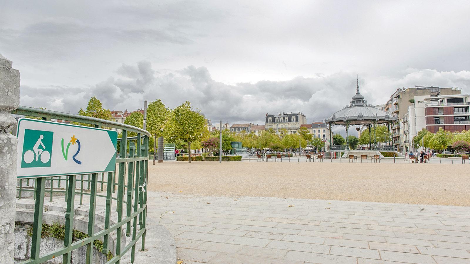 ViaRhôna, Valence. Foto: Hilke Maunder