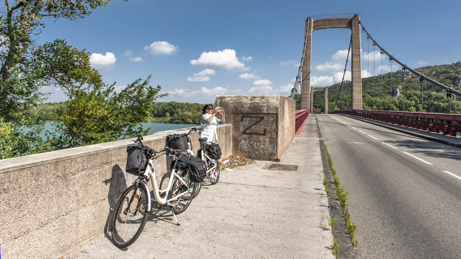 Die Rhône-Brücke von Viviers. Foto: Hilke Maunder