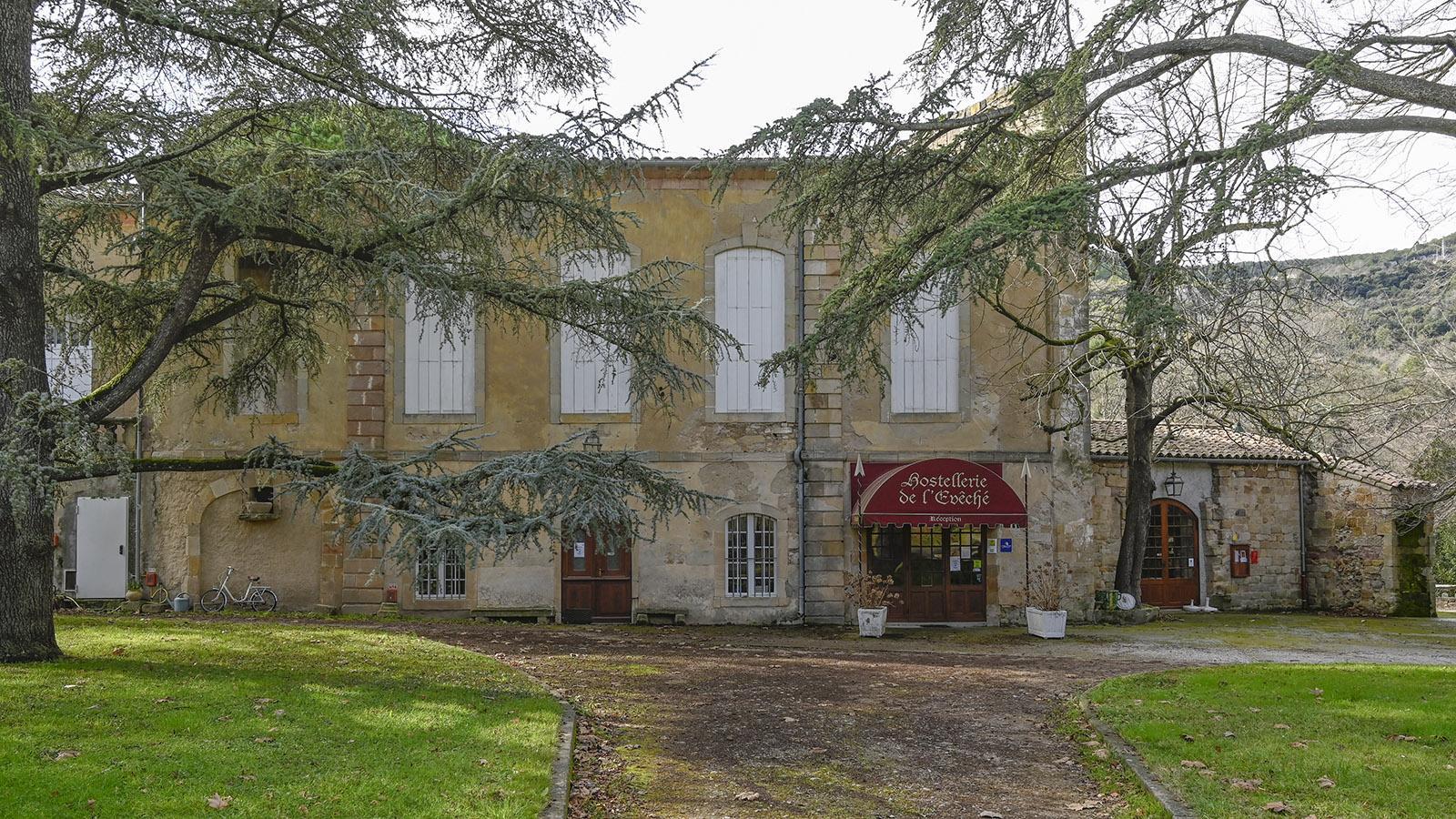 Alet-les-Bains: Das Hotel im einstigen Bischofspalast. Foto: Hilke Maunder