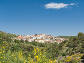 Fenouillèdes: Blick auf Bélesta, Heimat der Domaine de Riberach. Foto: Hilke Maunder