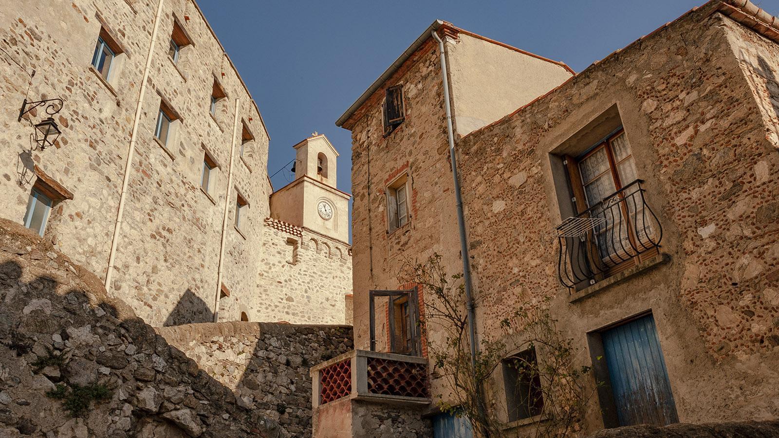 Fenouillèdes: die alte Bourg von Bélesta. Foto: Hilke Maunder