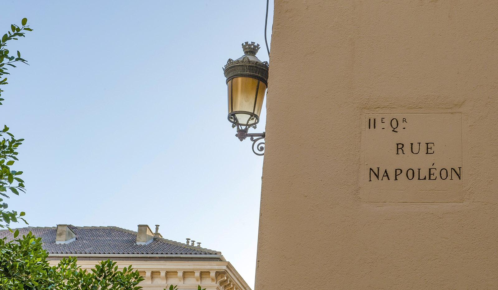 Bastia: Rue Napoléon. Foto: Hilke Maunder