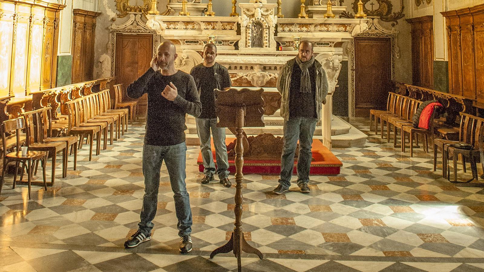 "Bastia: Der Paghjella-Chor ""Voce"". Foto: Hilke Maunder"