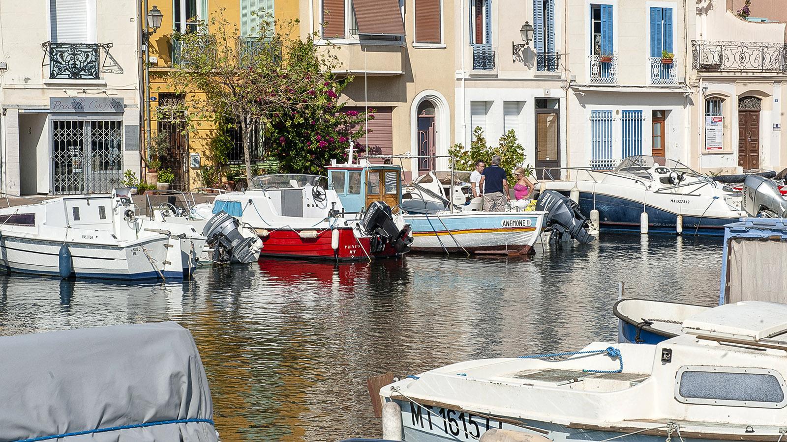 Martigues: das Quartier de l'Île mit seinem Canal Saint-Sébastien. Foto: Hilke Maunder