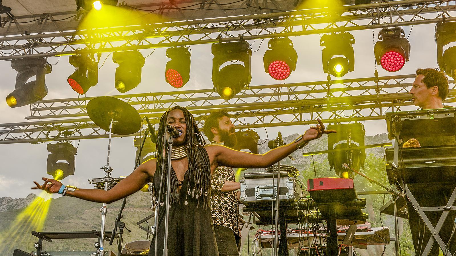 """Fenouillèdes: Frauen sind Programm beim Festival """"Voix de Femmes"""" in Maury. Foto: Hilke Maunder"""