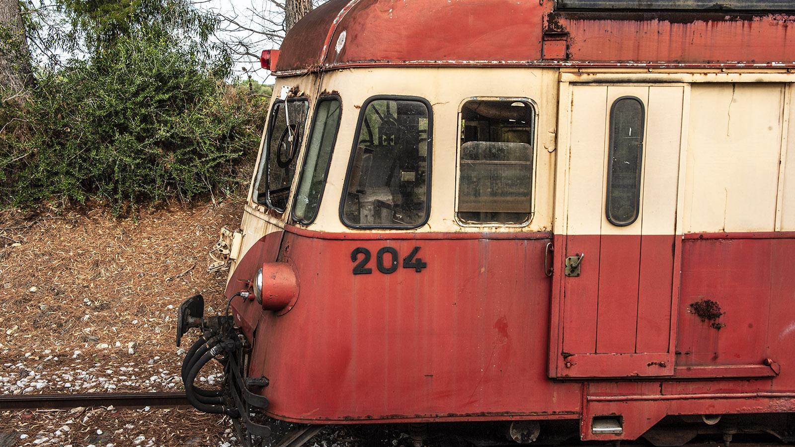 Trinighellu: Das Streckennetz. Foto: Hilke Maunder ein Veteran. Foto: Hilke Maunder