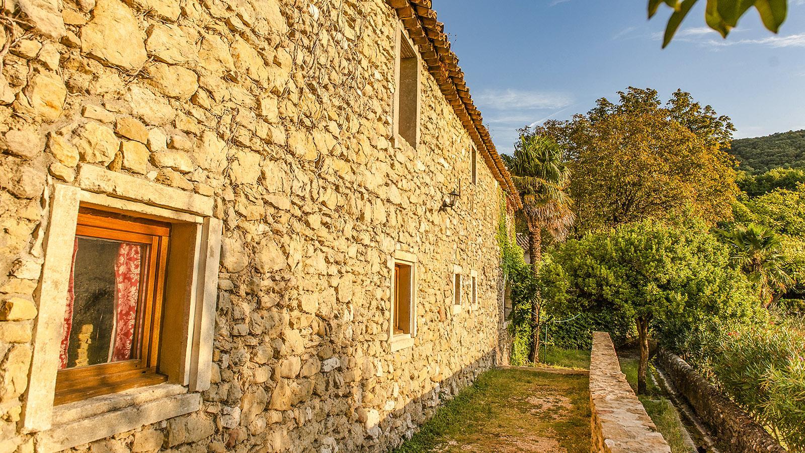 Ein neuer Tag beginnt auf dem Weingut Notre-Dame de Cousignac- Foto: Hilke Maunder