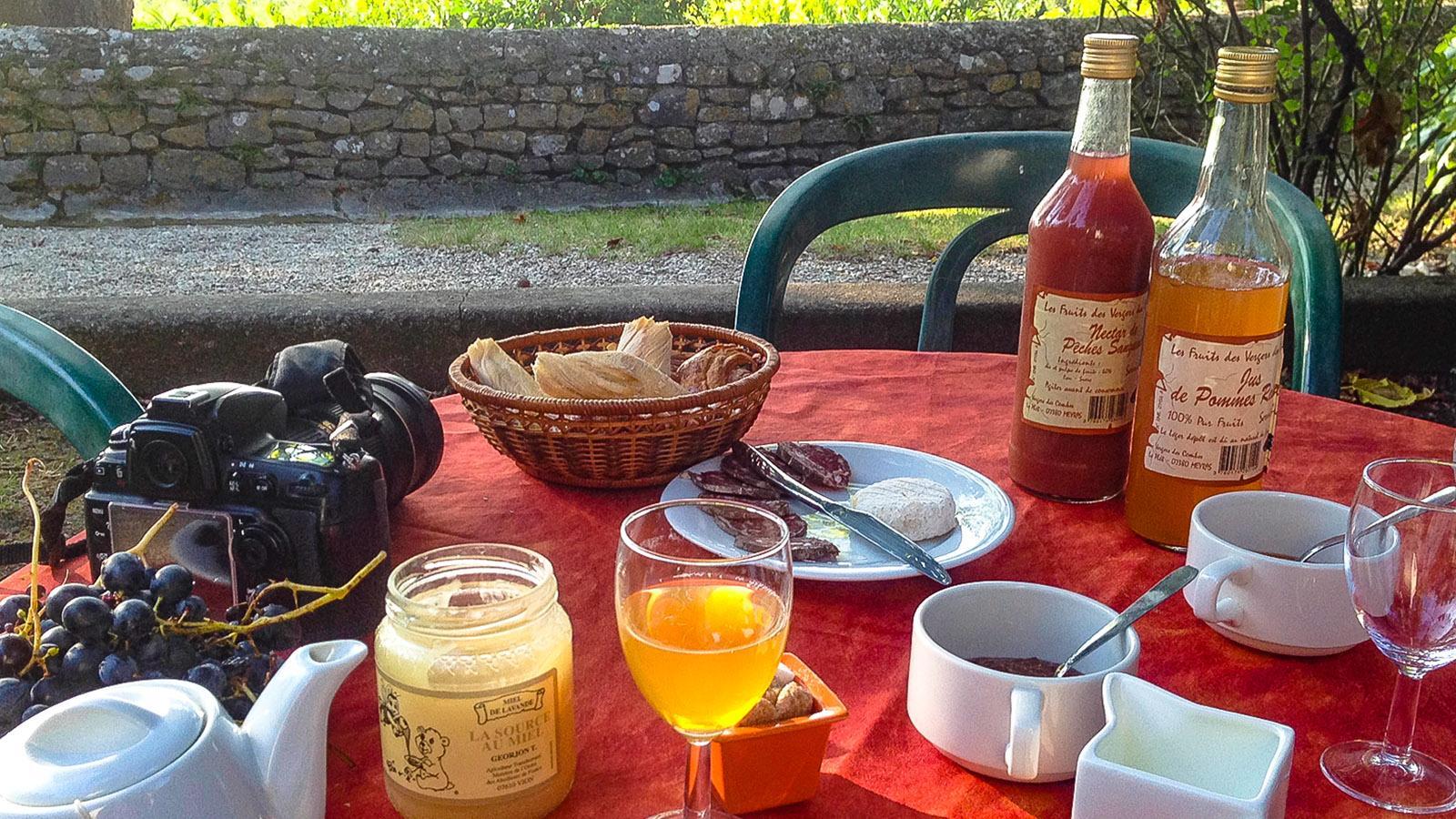 N. D. de Cousignac: Frühstück. Foto: Hilke Maunder