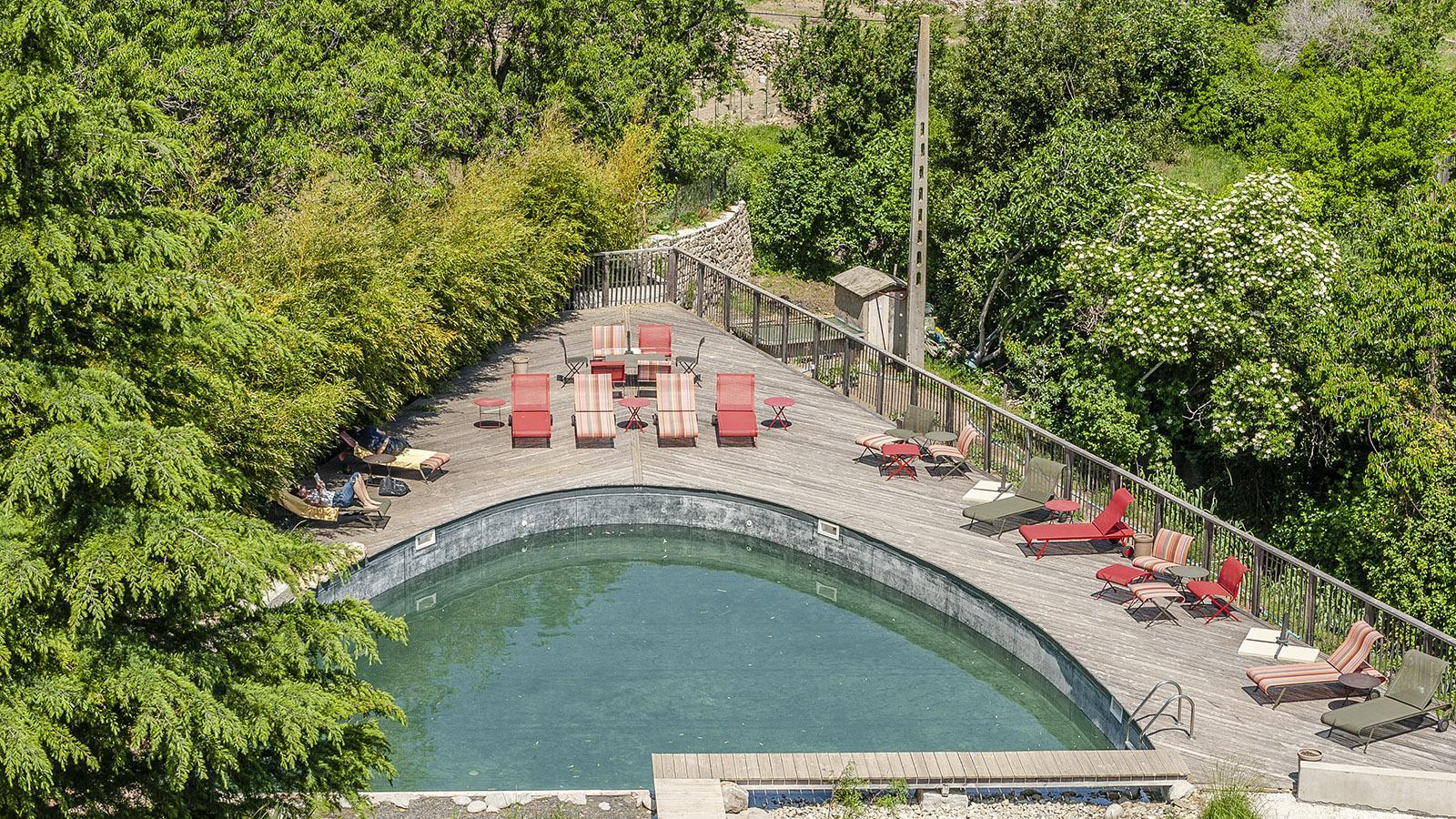 Riberach: der Hotel-Pool. Foto: Hilke Maunder