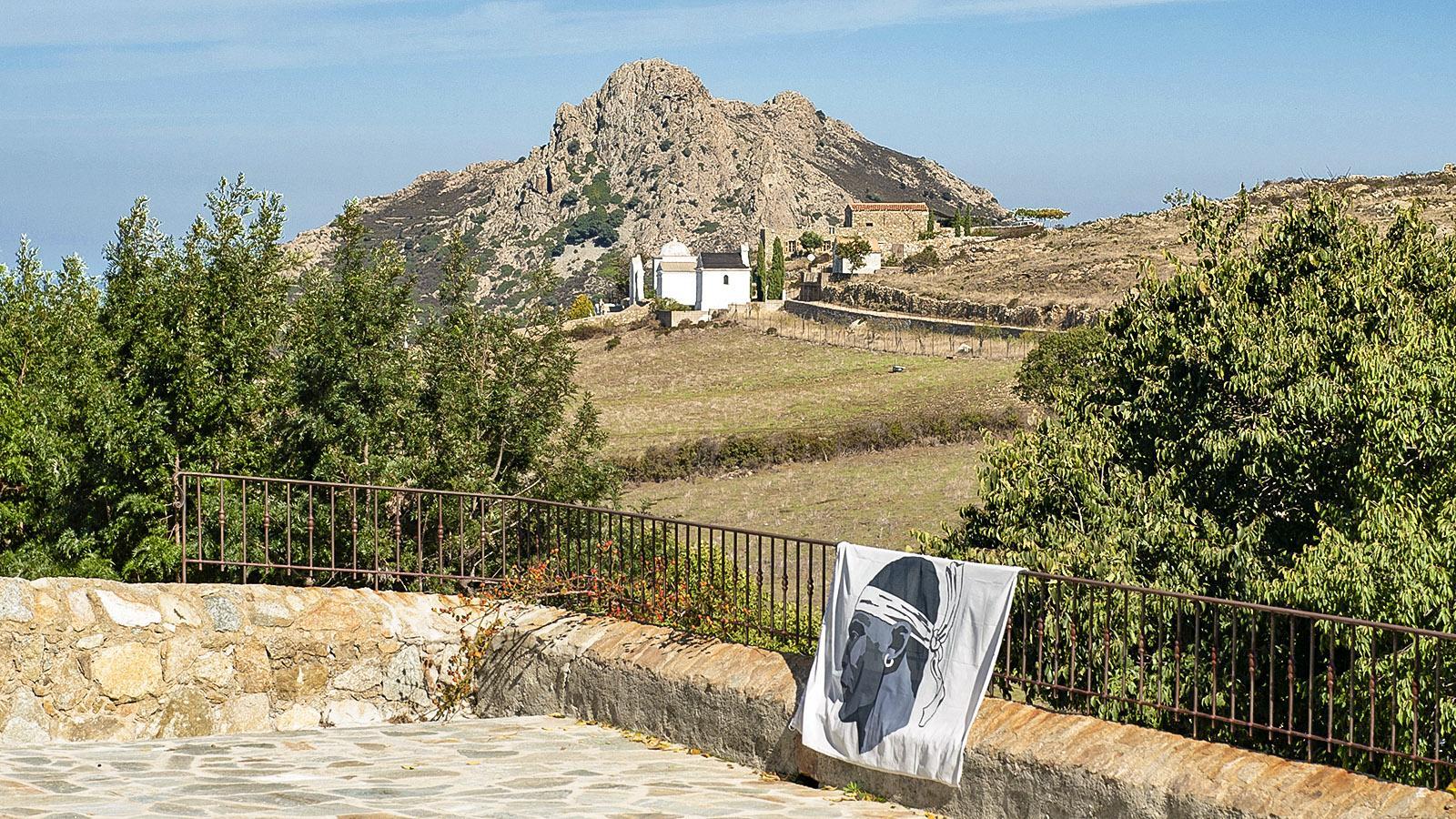Sant'Antonino, ein stolzes korsisches Dorf in der Balagne. Foto: Hilke Maunder