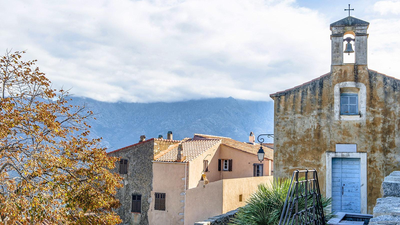 Sant'Antonino: Chapelle Sainte-Anne des bergers. Foto: Hilke Maunder
