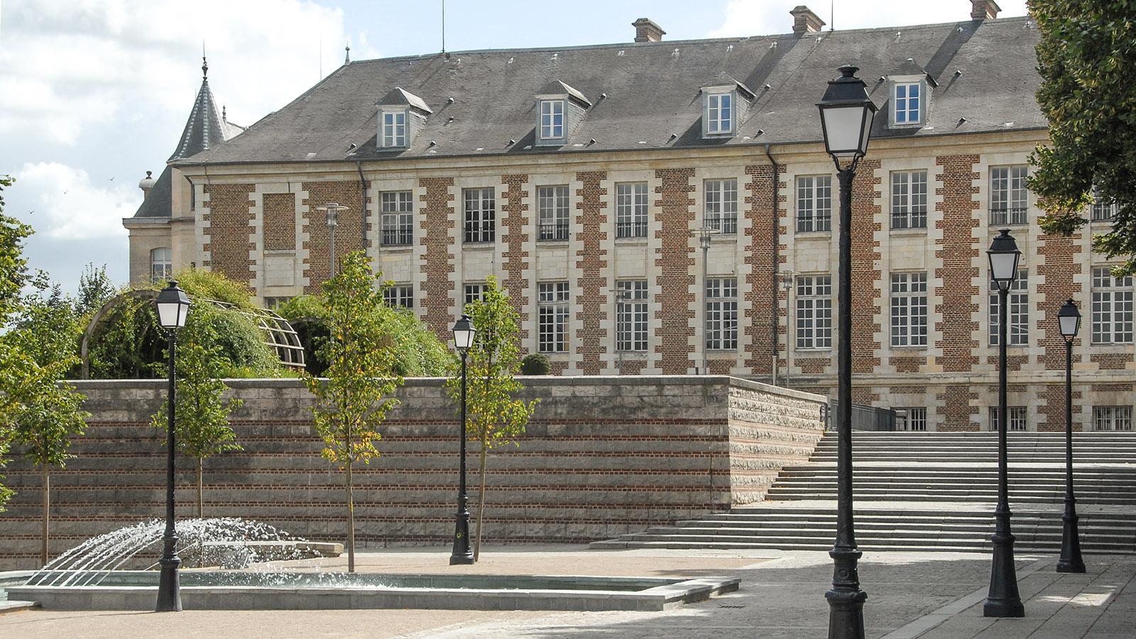 Stadtplatz in Amiens. Foto: Hilke Maunder