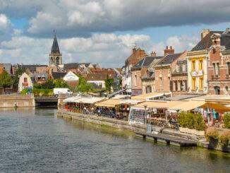 Amiens: das Leu-Viertel an der Somme. Foto: Hilke Maunder