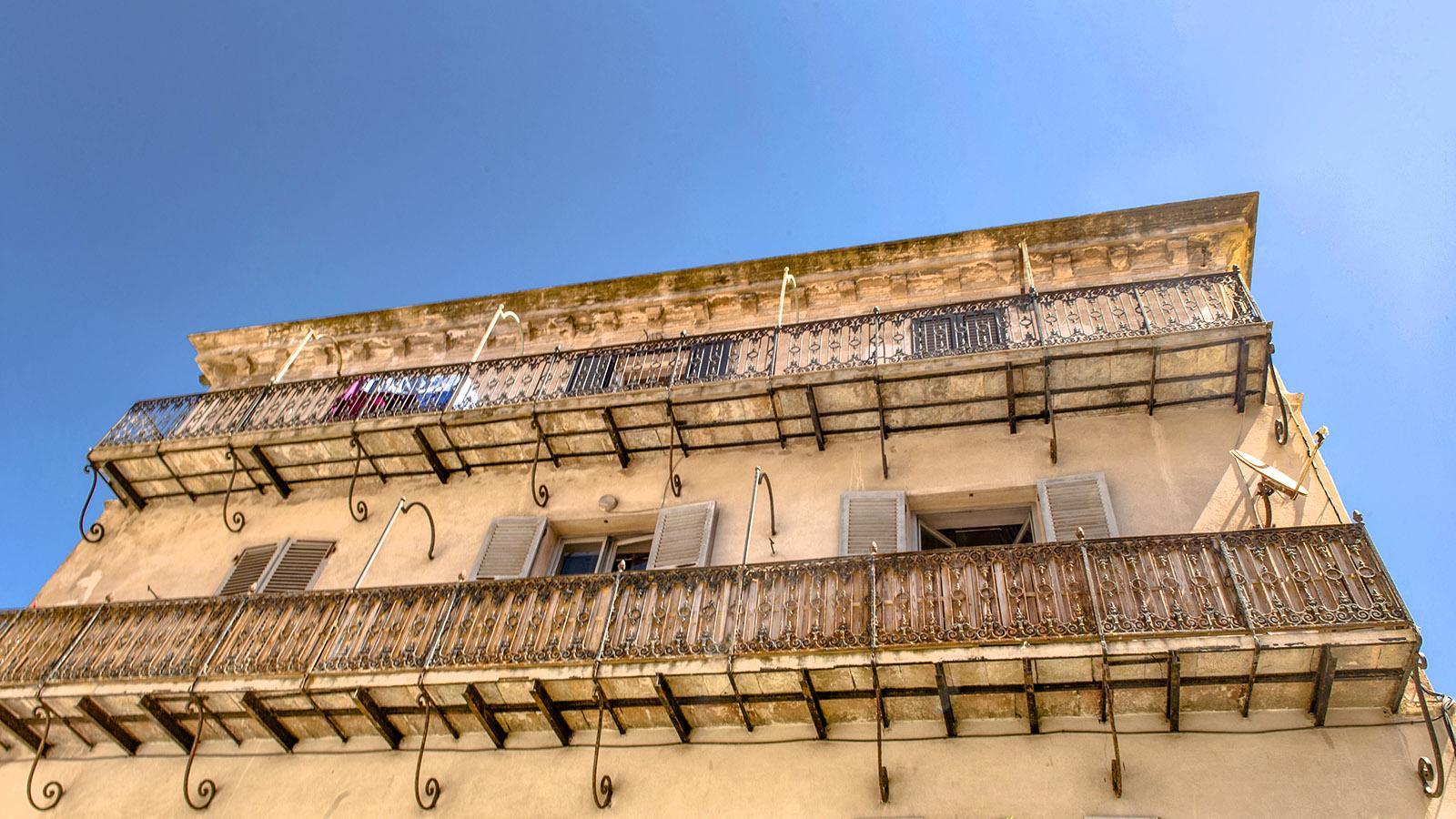In der Oberstadt von Bonifacio. Foto: Hilke Maunder