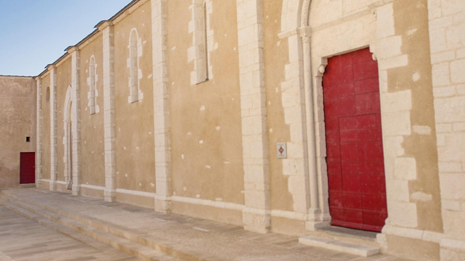 Bonifacio: Église Saint-Dominique. Foto: Hilke Maunder