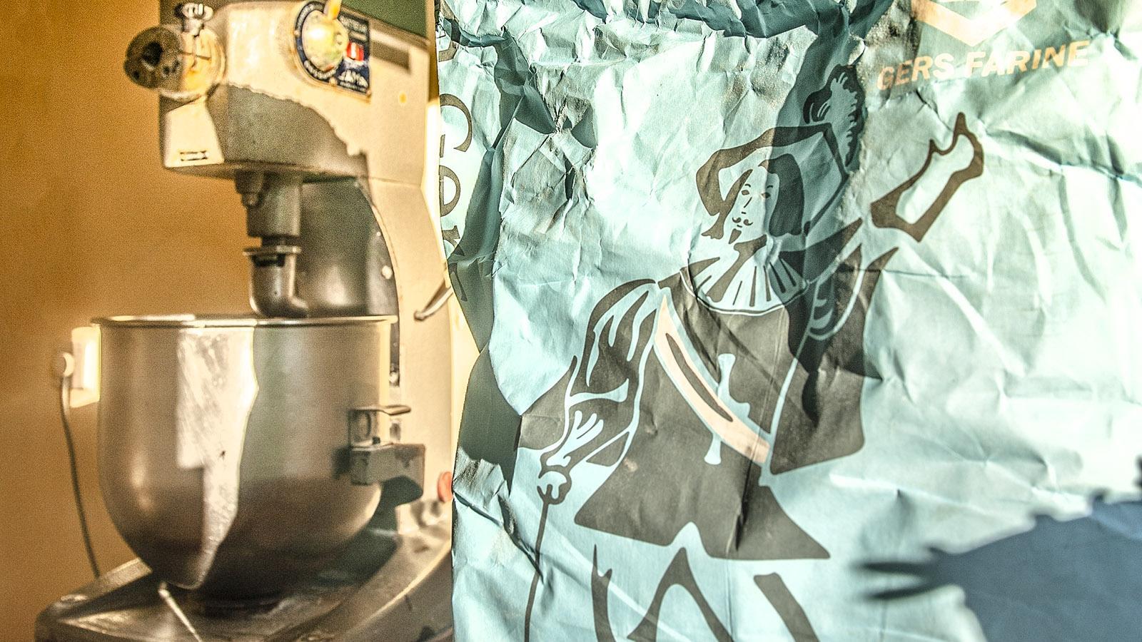 Das Musketier-Mehl für die Croustade. Foto: Hilke Maunder