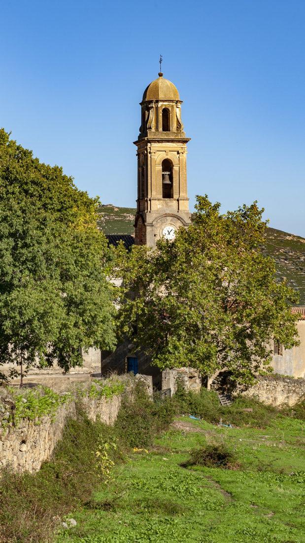 Die Pfarrkirche von Feliceto. Foto: Hilke Maunder