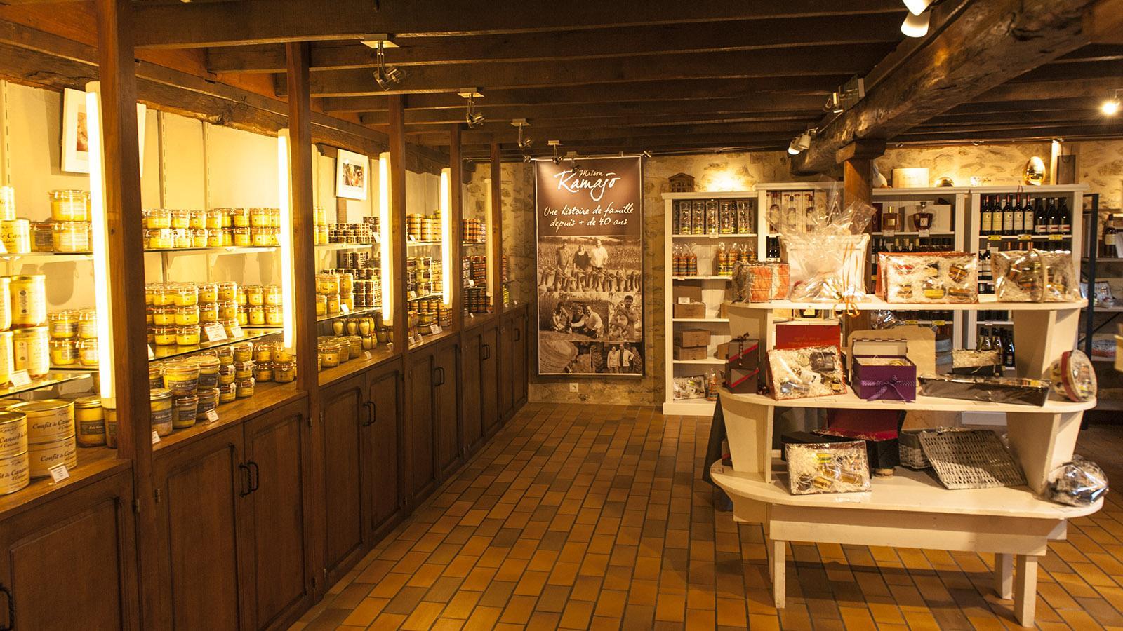 Foie Gras, Der Hofladen von Ramajo. Foto: Hilke Maunder