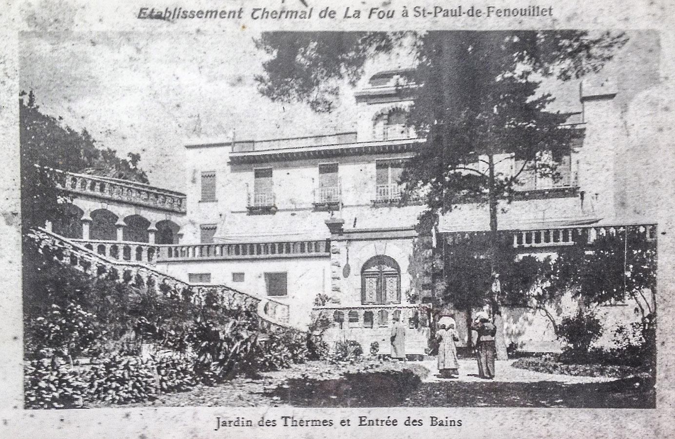 Das einstige Thermalbad von Saint-Paul-de-Fenouillet. Foto: Hilke Maunder